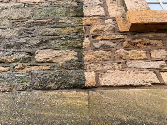 Cotswold stone cleaning - Hydro Clean exterior